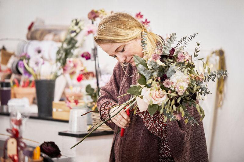Blomsterdekoratør Regitze Høeg Henriksen