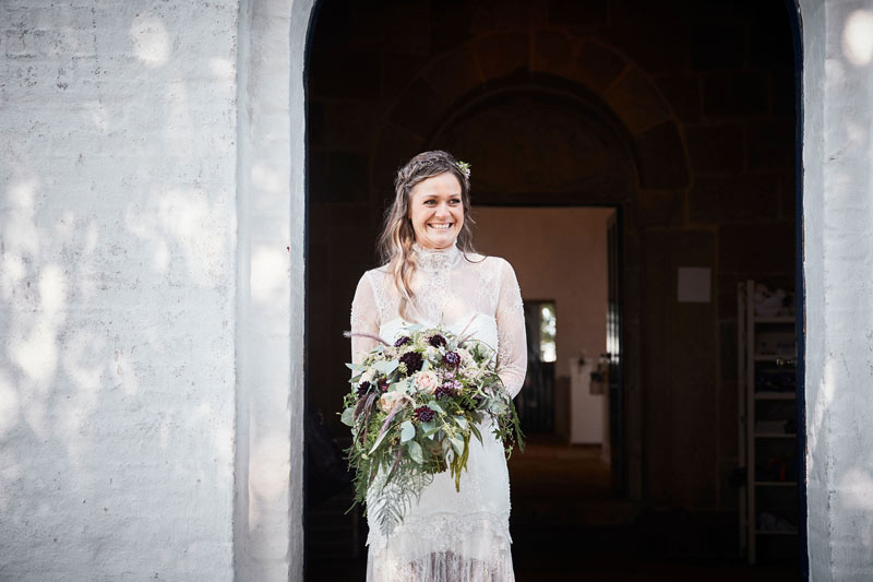 Brudebuket til bryllup