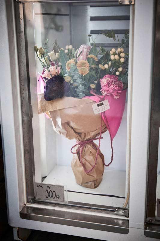 Blomsterautomaterne har altid åbent – køb smukke, håndbundne buketter m.m. døgnet rundt