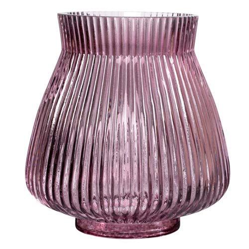 Monroe vase i lilla glas - høj