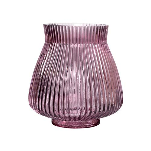 Monroe-vase i lilla glas – lav